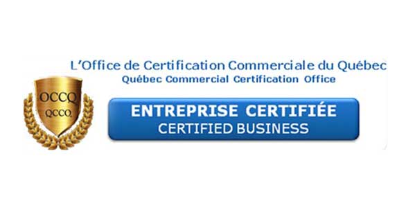 Quebec Commercial Certification Office - Certified Business